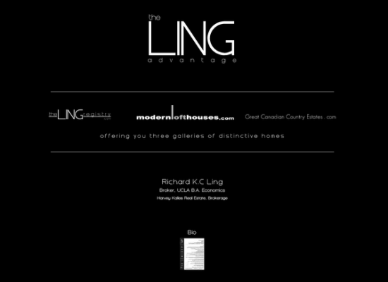 The Ling Advantage Site design and layout