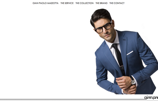 Gian Paolo Site design and layout