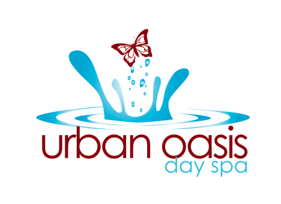Urban Oasis day spa Logo Design