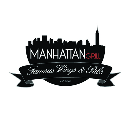Manhattan Grill Logo Design