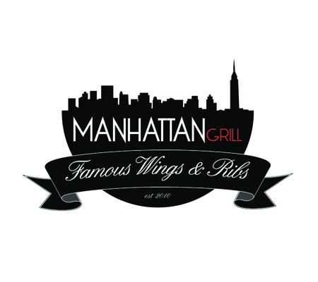 Manhattan Grill Logo Design