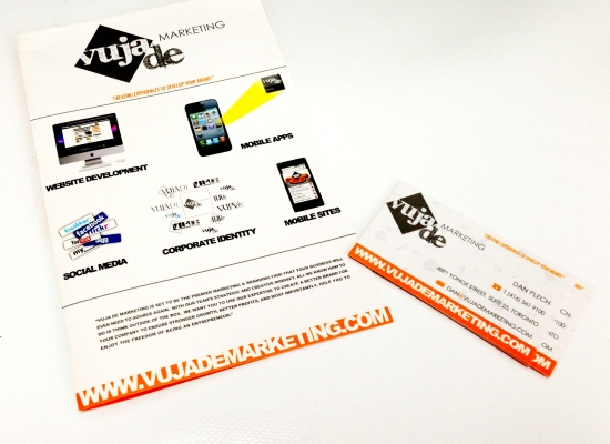 Vuja De MArketing branding Package