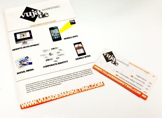 Vuja De MArketing branding Package