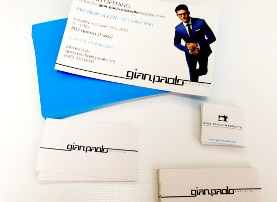 Gian Paulo Branding Package
