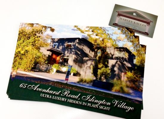 Harvey Kalles Postcard
