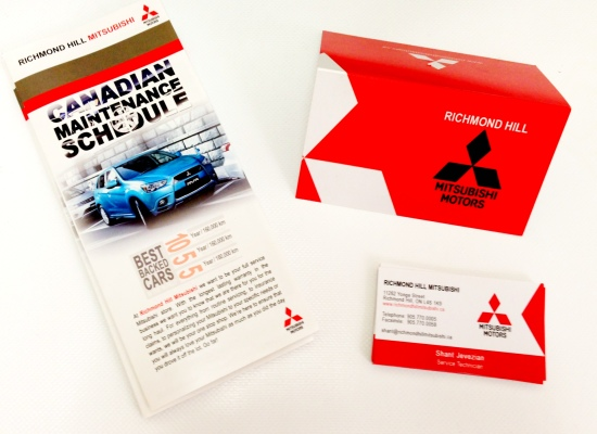 Mitsubishi RichmondHill Service Pamphlet