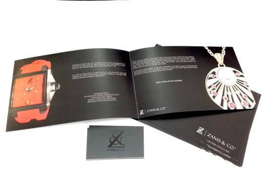 Zanis & Co. Product Catalogue and Branding