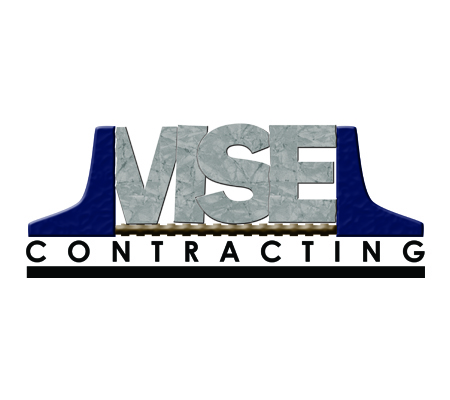 Vise Contracting Logo Design